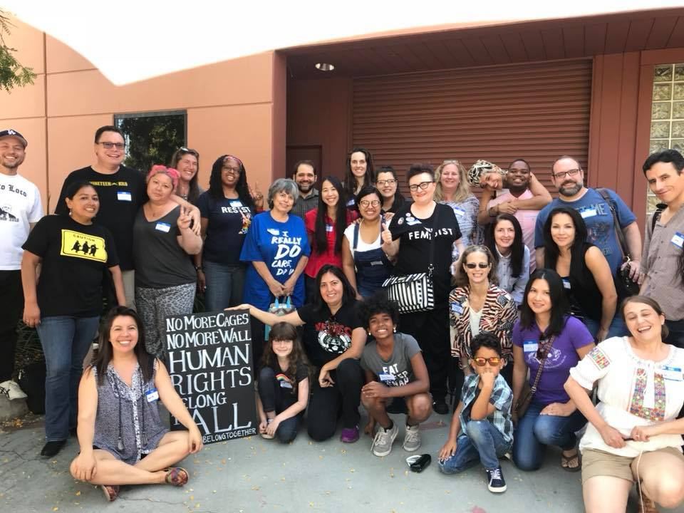 a Group photo of participants from rise to reunite