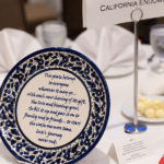 Decorative Plate Centerpiece