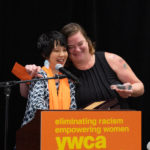 Angeline Chen Presenting Award to Nora Phillips