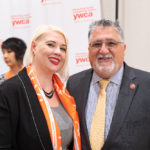 Jessica Kubel and Senator Anthony Portantino